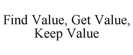FIND VALUE, GET VALUE, KEEP VALUE