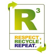 R3 RESPECT, RECYCLE, REPEAT.