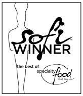 SOFI WINNER THE BEST OF SPECIALTY FOOD CRAFT. CARE. JOY.