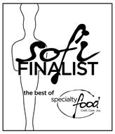 SOFI FINALIST THE BEST OF SPECIALTY FOOD CRAFT.CARE.JOY