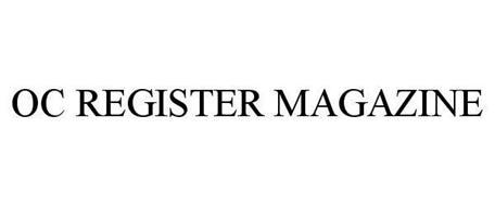 OC REGISTER MAGAZINE