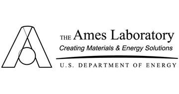 A THE AMES LABORATORY CREATING MATERIALS & ENERGY SOLUTIONS U.S. DEPARTMENT OF ENERGY
