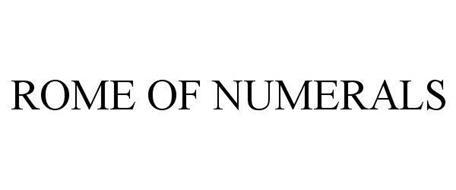 ROME OF NUMERALS
