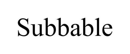 SUBBABLE