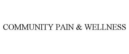COMMUNITY PAIN & WELLNESS