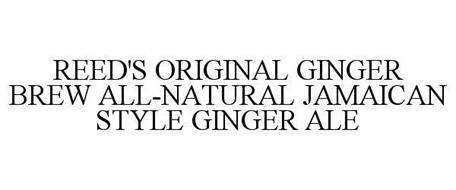 REED'S ORIGINAL GINGER BREW ALL-NATURAL JAMAICAN STYLE GINGER ALE