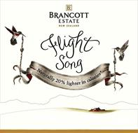 BE BRANCOTT ESTATE NEW ZEALAND FLIGHT SONG NATURALLY 20% LIGHTER IN CALORIES*