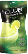 THE CLUB MARGARITA FROZEN FREEZE A SQUEEZE TEQUILA MADE WITH TEQUILA TRIPLE SEC. NATURAL FLAVORS & CERTIFIED COLOR