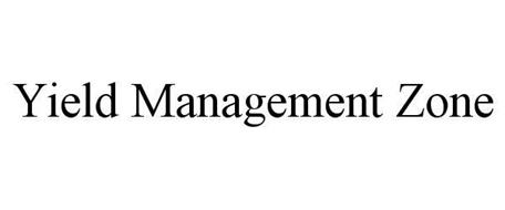 YIELD MANAGEMENT ZONE