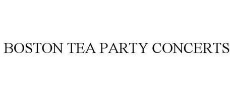 BOSTON TEA PARTY CONCERTS