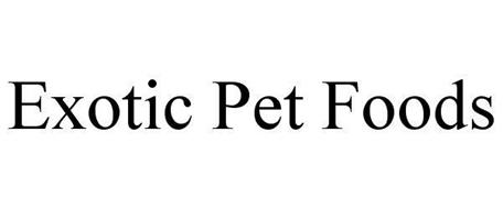 EXOTIC PET FOODS