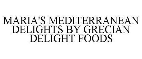 MARIA'S MEDITERRANEAN DELIGHTS BY GRECIAN DELIGHT FOODS