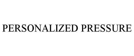 PERSONALIZED PRESSURE
