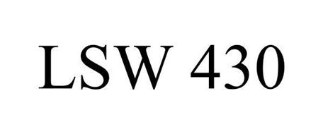 LSW 430