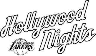 HOLLYWOOD NIGHTS LOS ANGELES LAKERS