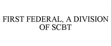 FIRST FEDERAL, A DIVISION OF SCBT