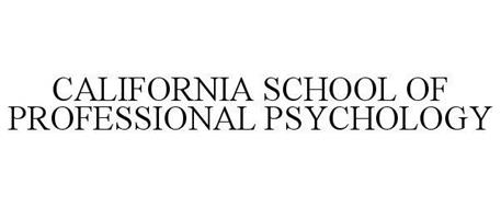 CALIFORNIA SCHOOL OF PROFESSIONAL PSYCHOLOGY