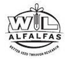 WL ALFALFAS BETTER SEED THROUGH RESEARCH