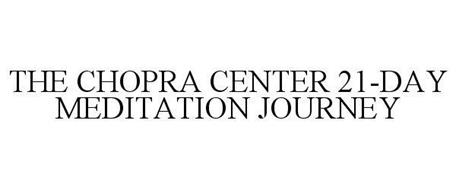 THE CHOPRA CENTER 21-DAY MEDITATION JOURNEY