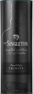 THE SINGLETON SINGLE MALT SCOTCH WHISKY OF GLENDULLAN PRODUCT OF SCOTLAND RESERVE COLLECTION TRINITY AN EXTRAORDINARY SINGLE MALT SCOTCH WHISKY CRAFTED IN THREE STAGES FOR REMARKABLE RICHNESS AND A DEEP, HARMONIOUS CHARACTER 1LITRE 40%VOL