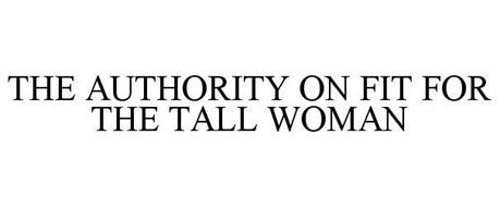 THE AUTHORITY ON FIT FOR THE TALL WOMAN
