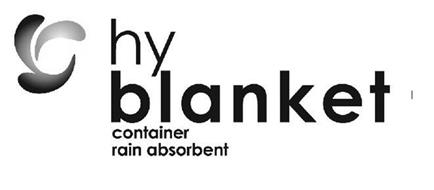 HY BLANKET CONTAINER RAIN ABSORBENT