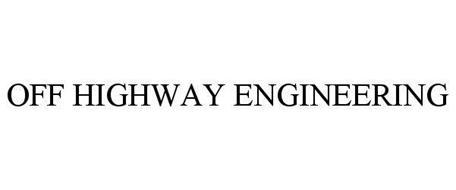 OFF HIGHWAY ENGINEERING