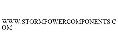 WWW.STORMPOWERCOMPONENTS.COM