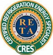CRES CERTIFIED REFRIGERATION ENERGY SPECIALIST EDUCATION EFFICIENCY DEVELOPMENT RETA