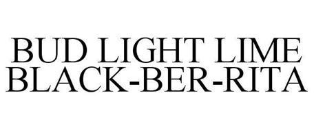 BUD LIGHT LIME BLACK-BER-RITA