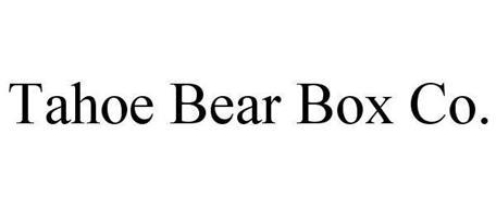 TAHOE BEAR BOX CO.