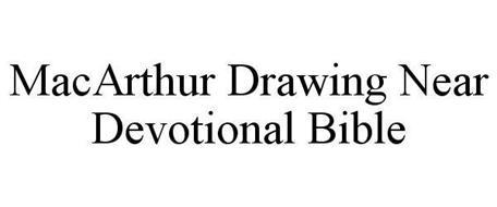 MACARTHUR DRAWING NEAR DEVOTIONAL BIBLE