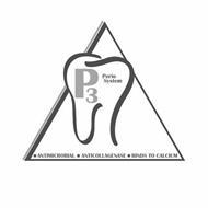 P3 PERIO SYSTEM ANTIMICROBIAL ANTICOLLAGENASE BINDS TO CALCIUM