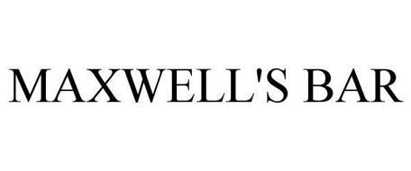 MAXWELL'S BAR