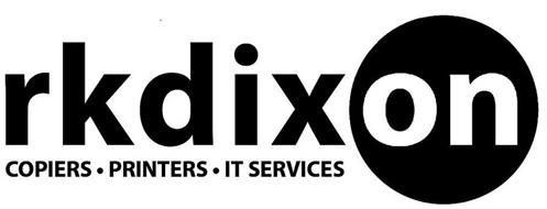 RKDIXON COPIERS · PRINTERS · IT SERVICES
