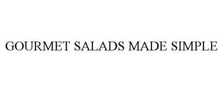 GOURMET SALADS MADE SIMPLE
