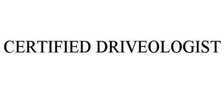 CERTIFIED DRIVEOLOGIST