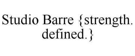 STUDIO BARRE {STRENGTH. DEFINED.}