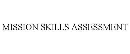 MISSION SKILLS ASSESSMENT