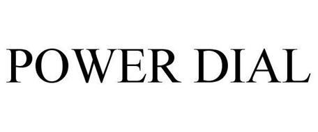 POWER DIAL