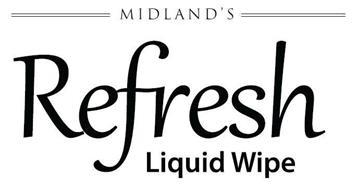 MIDLAND'S REFRESH LIQUID WIPE