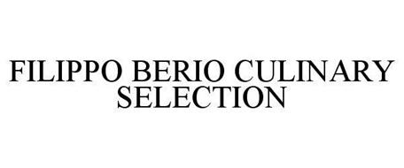 FILIPPO BERIO CULINARY SELECTION