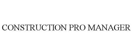 CONSTRUCTION PRO MANAGER