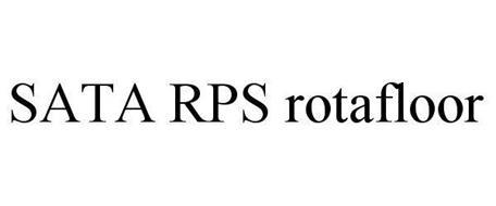 SATA RPS ROTAFLOOR