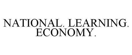 NATIONAL. LEARNING. ECONOMY.