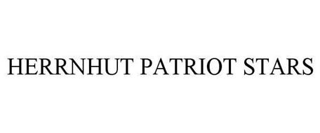 HERRNHUT PATRIOT STARS