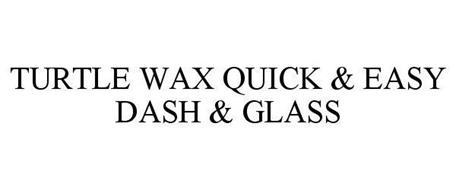 TURTLE WAX QUICK & EASY DASH & GLASS