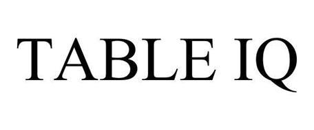 TABLE IQ