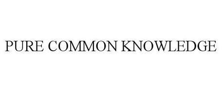 PURE COMMON KNOWLEDGE
