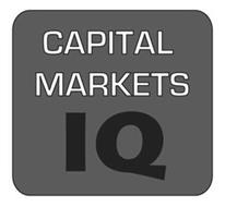 CAPITAL MARKETS IQ
